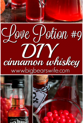 Love Potion #9 – DIY Cinnamon Whiskey