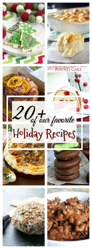 20+ of our favorite Holiday Recipes
