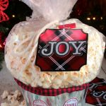 Popcorn Gift Basket & Gift Card Holder Idea