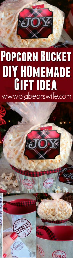 Popcorn Gift Basket