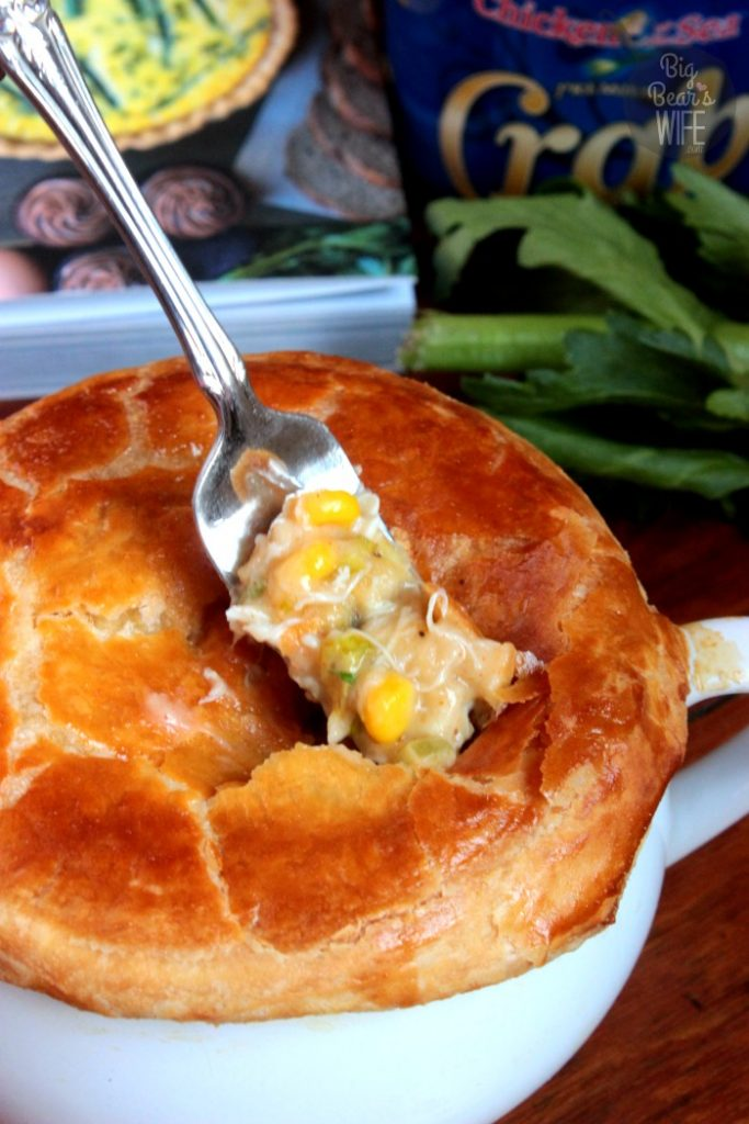 Jumbo Lump Crab Pot Pie