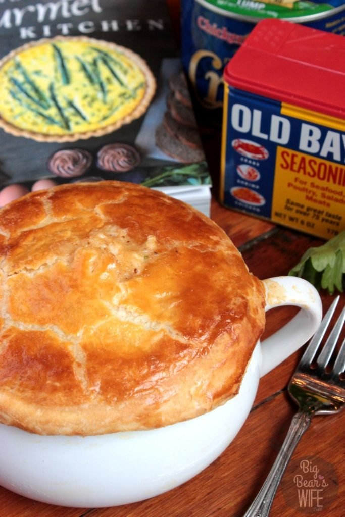 Jumbo Lump Crab Pot Pie - Oh my word, and I'm not even sure that I can begin to tell you have creamy and fantastic this pot pie really is. I mean I've eaten quite a few pot pies throughout my life and this was one of the top, for sure.
