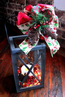DIY Christmas Lantern Tutorial