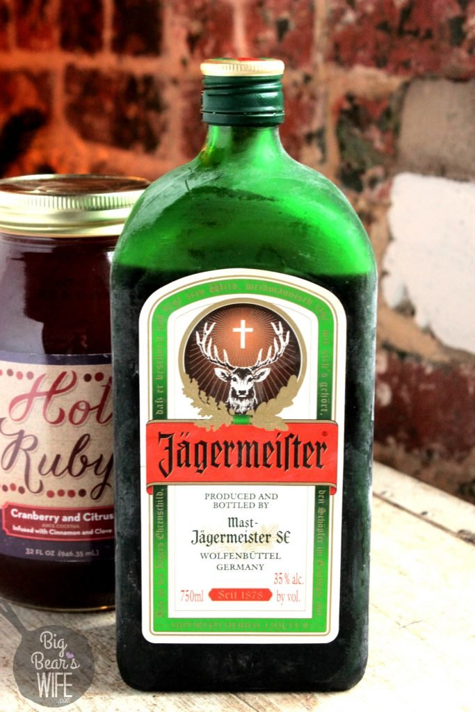 Jager and cranberry jager and hot ruby big bear 39 s wife for Cocktail jager