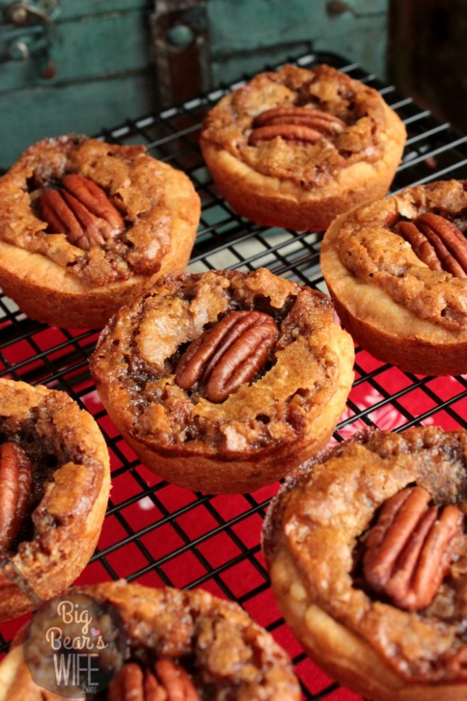 Pecan Pie Cookie Cups