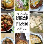 Weekly Meal Plan #1 for 2017