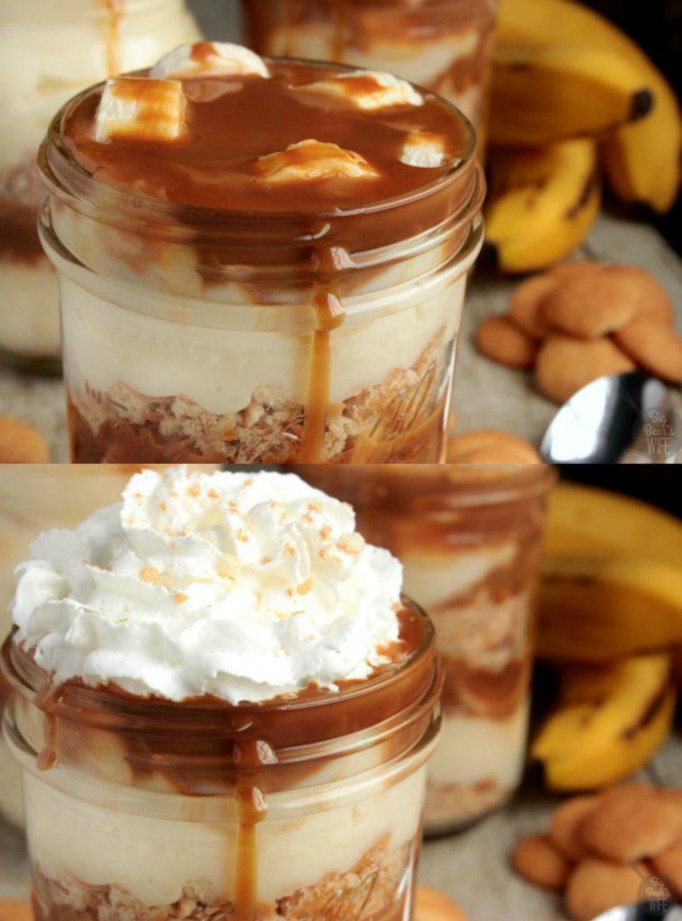 Caramel Banana Pudding Parfaits Big Bear S Wife