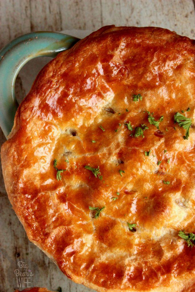 Marsala Mushroom Beef Pot Pie