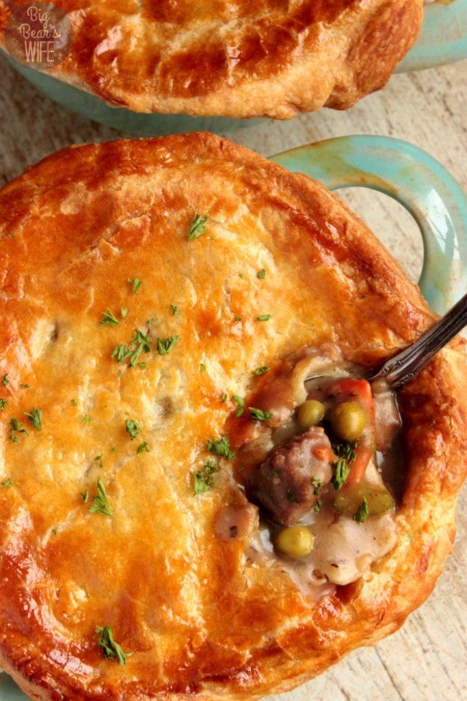Recipe for beef pot pie