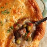 Marsala Mushroom Beef Pot Pie | Got To Be NC Beef | Baldwin Farms