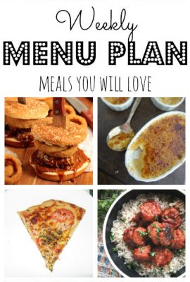 Meal Plan 6 for 2017
