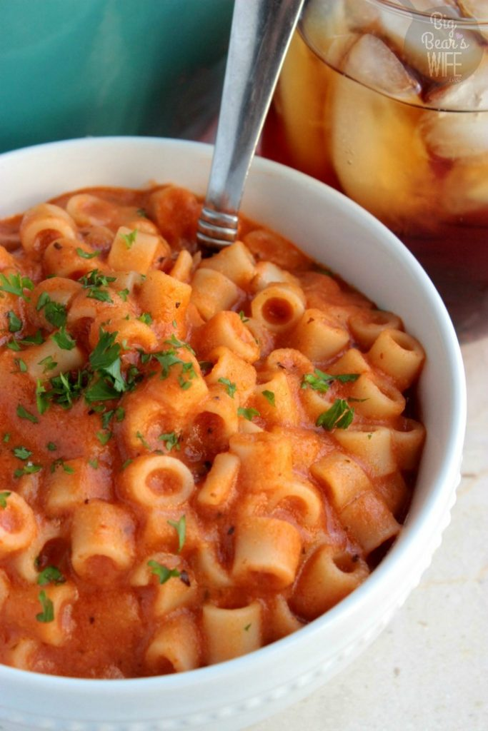 Homemade Spaghetti-Os
