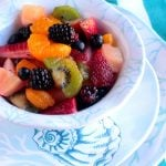 Honey Vanilla Fruit Salad with Q Squared NYC CAPTIVA