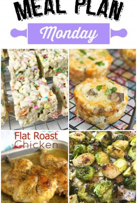 Meal Plan Monday 55