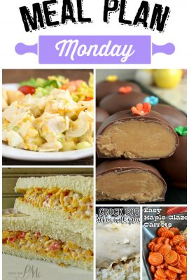 Meal Plan Monday #58