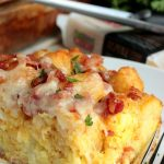 Breakfast Loaded Tater Tot Casserole #BrunchWeek