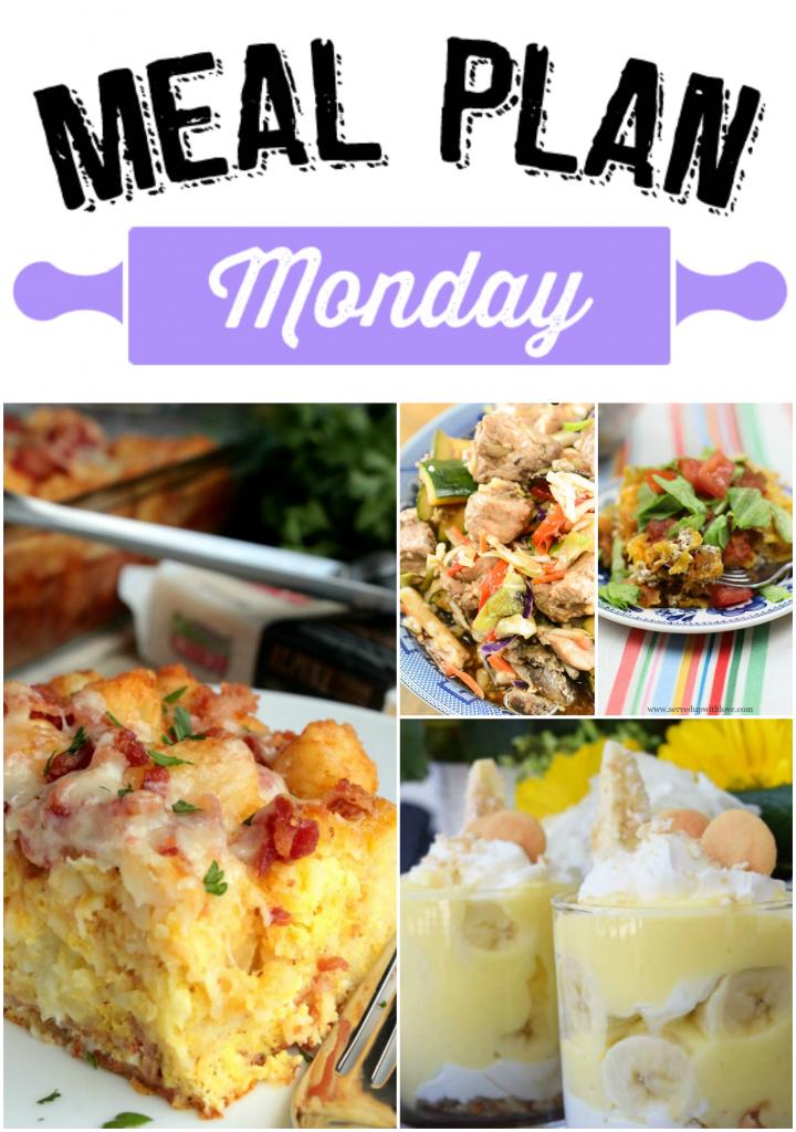 Meal Plan Monday 63