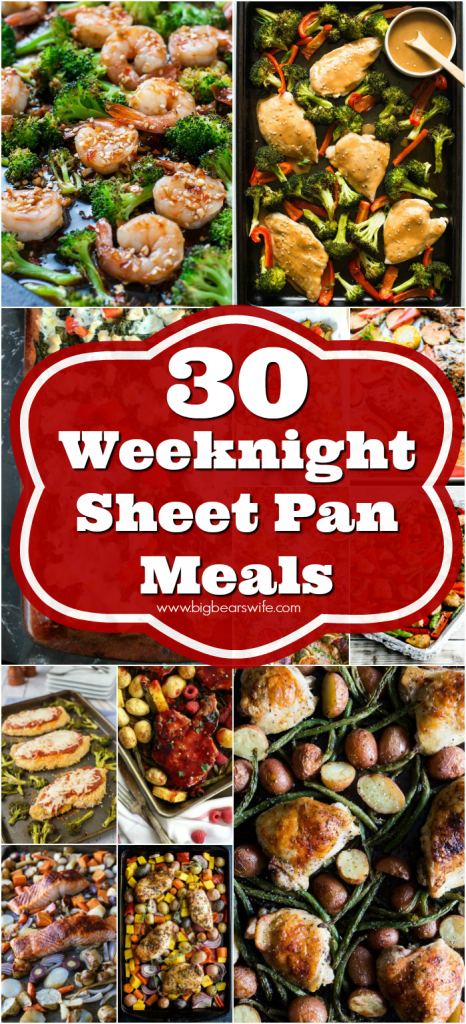 Weeknight Sheet Pan Meals