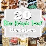 20 Sweet Rice Krispie Treats