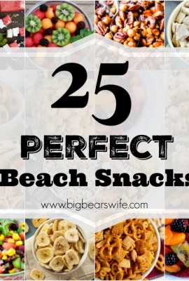 25 Perfect Beach Snacks
