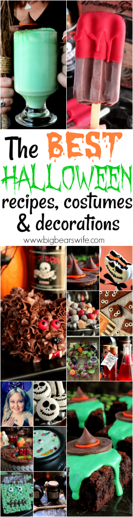 Halloween Recipes, Decorations and Costumes