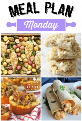 Meal Plan Monday #66