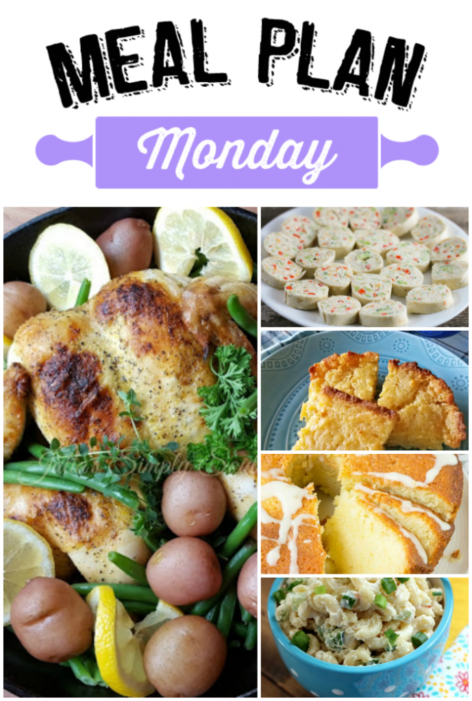 Hey Y'all! Welcome to another Meal Plan Monday 67! We're sure happy you've stopped by to visit with us. There is a whole lot of goodness going on each week with delicious recipes shared by favorite food bloggers. Inspiration for the week ahead!