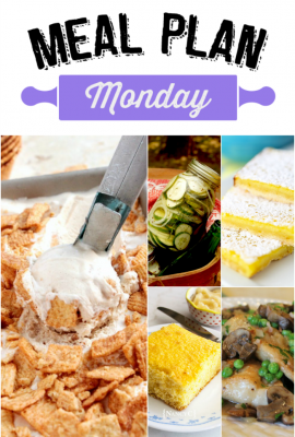 Meal Plan Monday 68