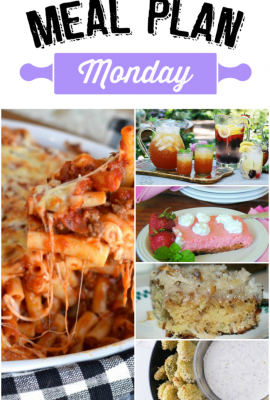 Meal Plan Monday 69