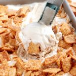 No Churn Cinnamon Toast Crunch Ice Cream
