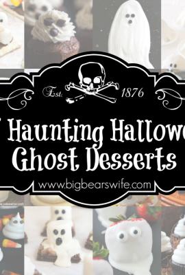 15 Haunting Halloween Ghost Desserts