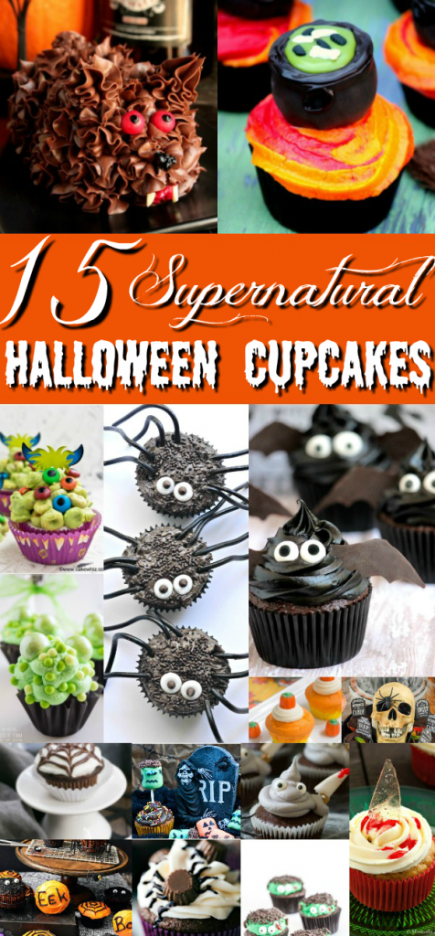 15 Supernatural Halloween Cupcakes