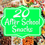 20 Tasty Afternoon Snacks – After School Snacks