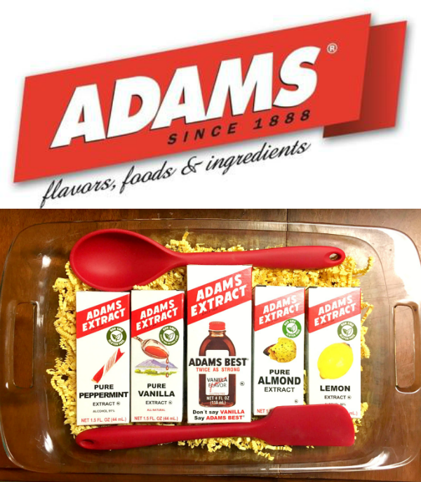 Adams Extract products.