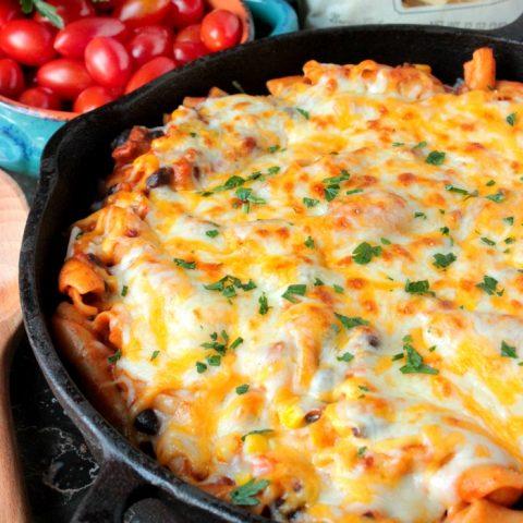 Cheesy Taco Pasta
