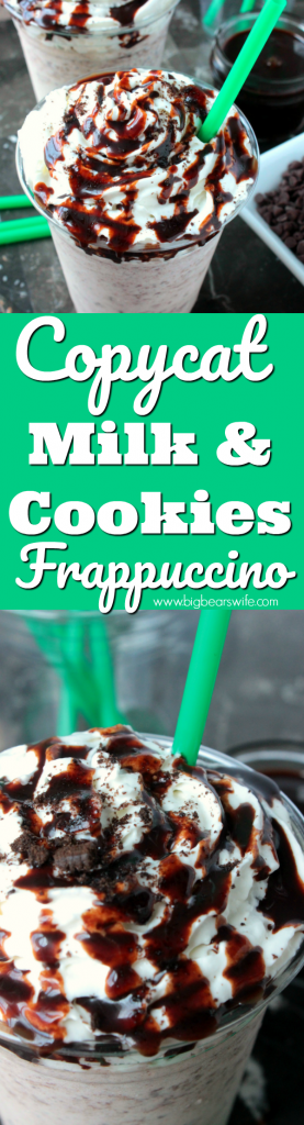 Copycat Milk and Cookies Frappuccino