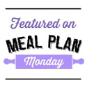 I was featured on Meal Plan Monday!