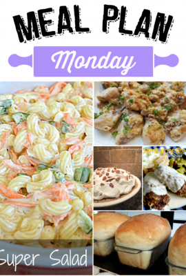 Welcome to Meal Plan Monday #72 where you can find all kinds of recipe ideas for lunch and dinner! Which new recipe will be hitting your table this week?