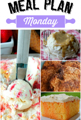 Meal Plan Monday #73