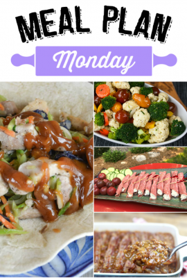Meal Plan Monday #70
