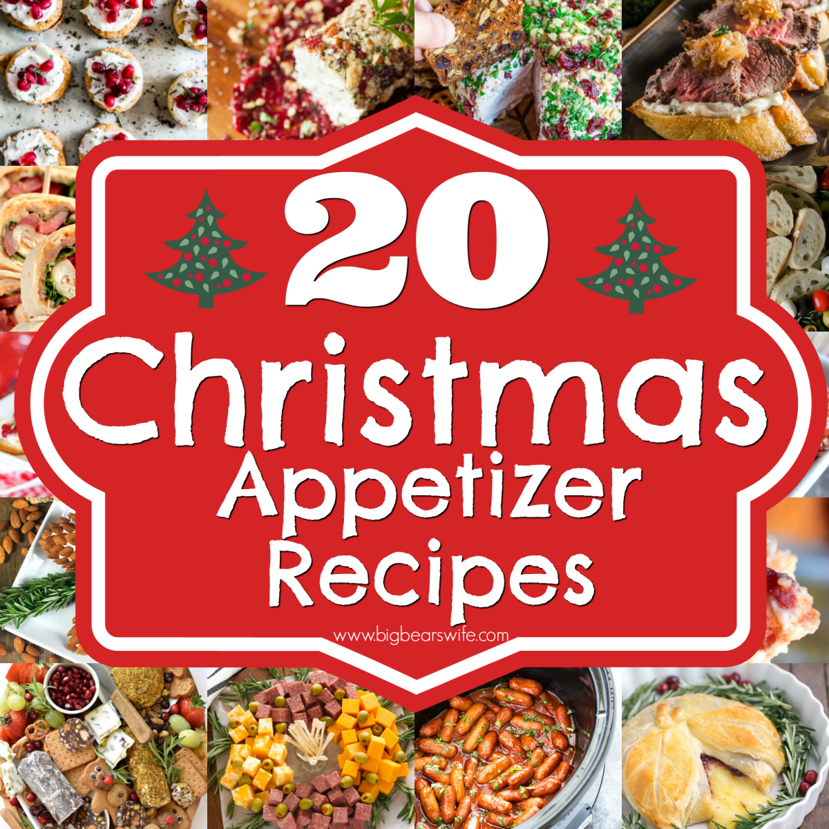 20 Christmas Appetizer Recipes