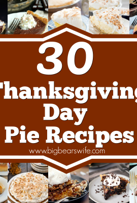 30 Thanksgiving Day Pie Recipes