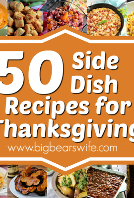 50 Thanksgiving Side Dish Recipes