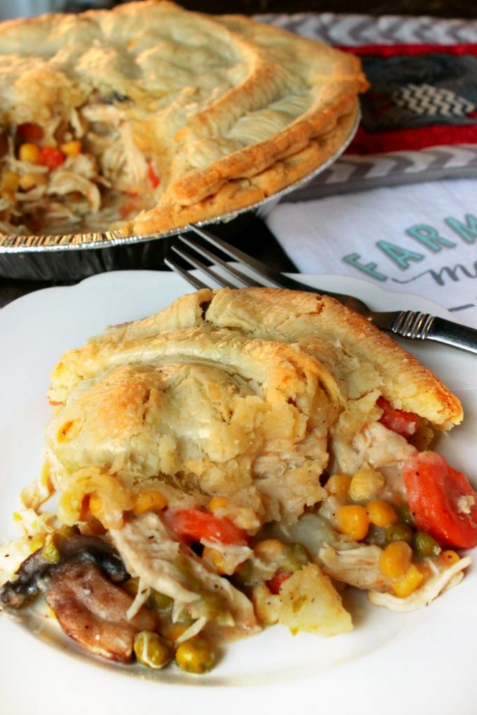 Chicken Pot Pie - Ready to make a Southern Chicken Pot Pie for dinner? GREAT! This recipe will make TWO Chicken Pot Pies, one for dinner tonight and one for the freezer!