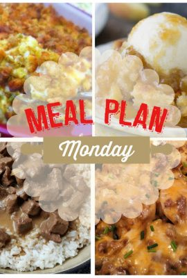 Meal Plan Monday 77