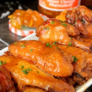 Slow Cooker Orange Chicken Wings