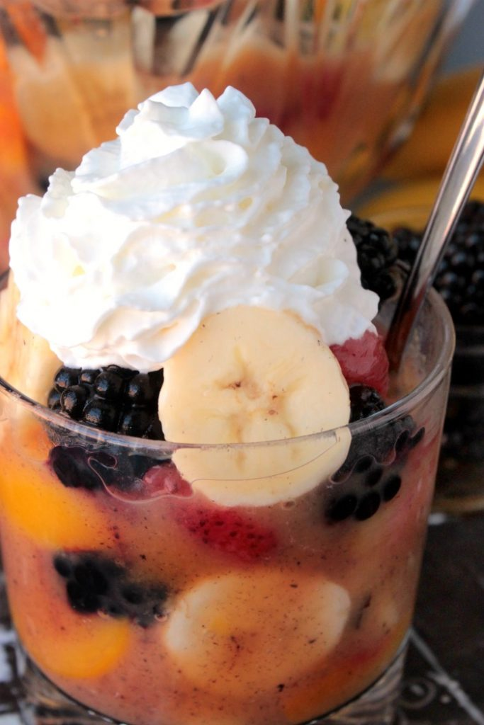 Vanilla Pudding Fruit Salad
