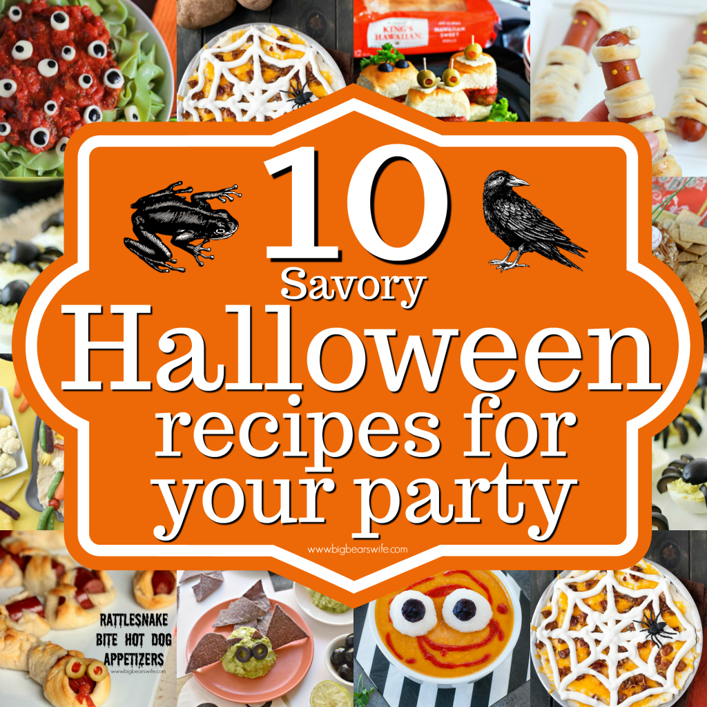 10 savory halloween recipes for your party there are tons of sweet halloween desserts out