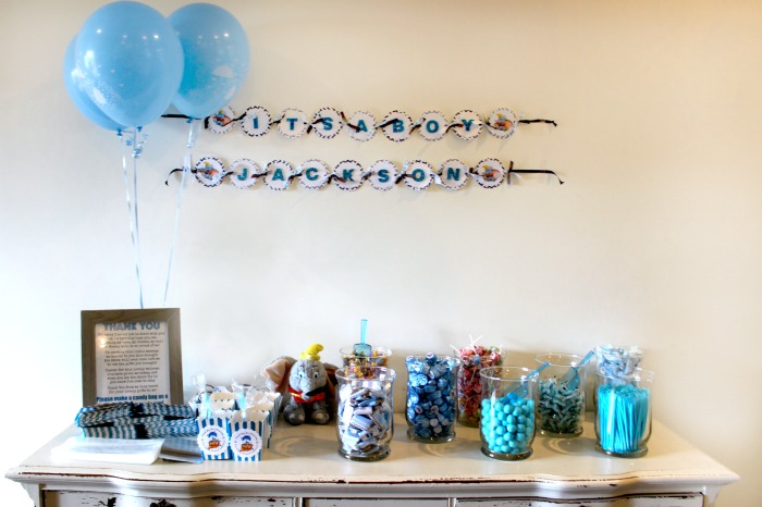 How to Set up a Candy Bar for Party Favors