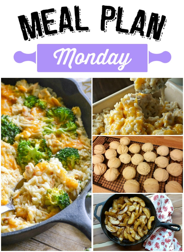 Get Ready, Get Set, Get in the Kitchen! It's time for Meal Plan Monday 82!